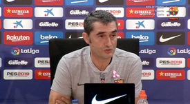 Valverde parle de Neymar. Capture FCBarcelone