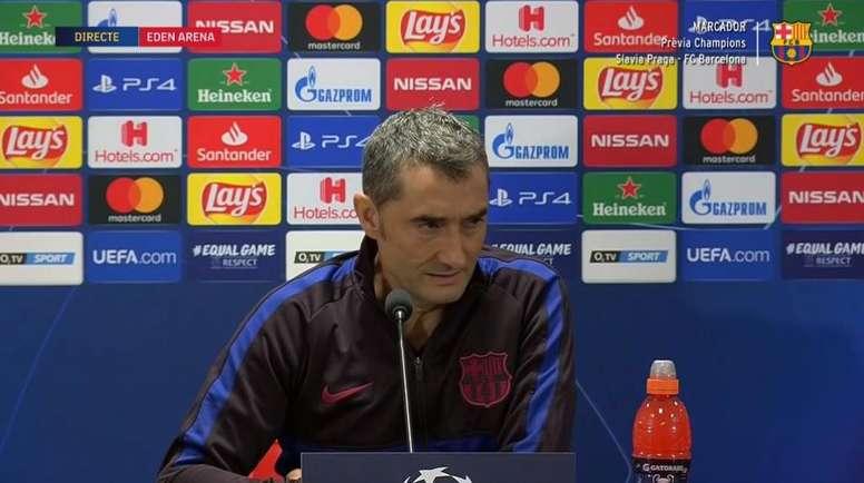 Valverde habló del cambio de fecha del 'Clásico'. Captura/BarçaTV