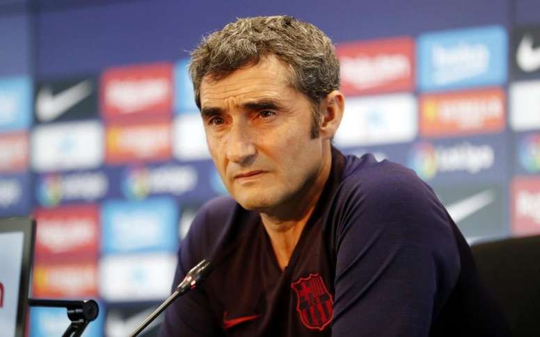 Valverde is tired of all the questions about Neymar. FCBarcelona