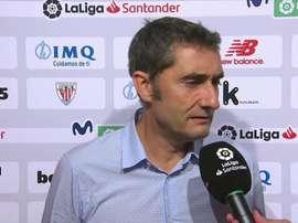 Valverde s'est exprimé sur Coutinho. Twitter/casadelfutbol