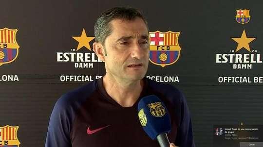 Valverde falou sobre as novas contratações do Barcelona. FCBarcelona