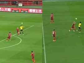 Mascherano tuvo un partido horrible. Captura/Youtube