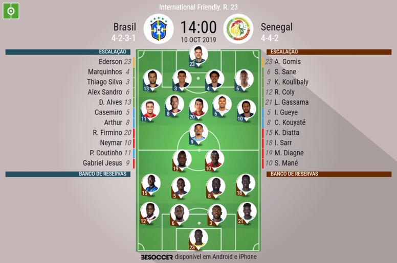 Brasil chega ao Estádio Nacional da Singapura para amistoso contra Senegal. CBF