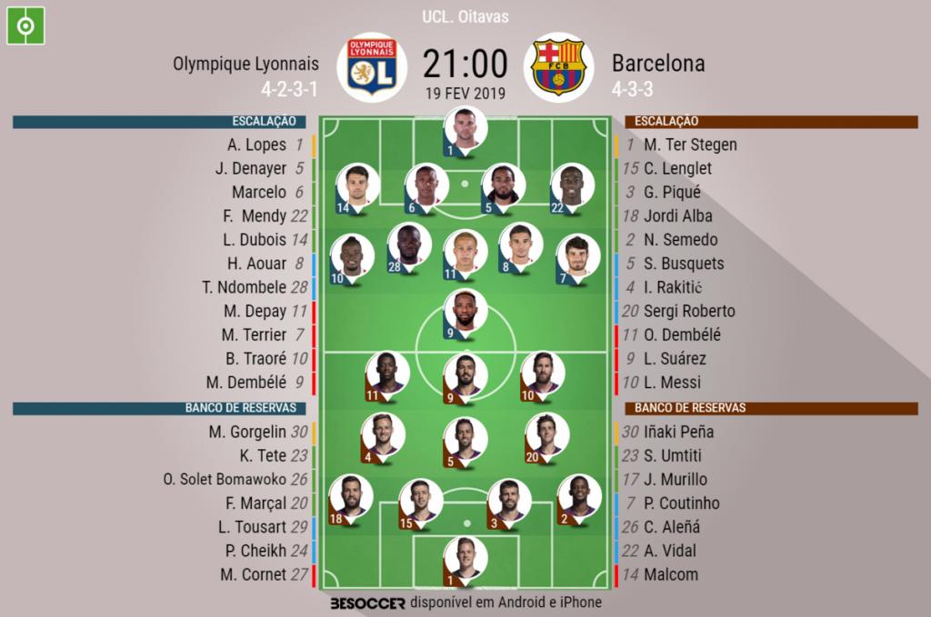1cede2df5 Assim vivemos o Olympique Lyonnais - Barcelona - BeSoccer