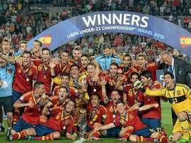 España quiere volver a cosechar el éxito logrado en el Europeo de 2013. SEFútbol
