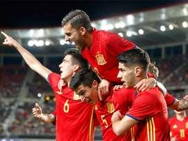 España es favorita para el duelo ante Portugal, según las casas de apuestas. RFEF