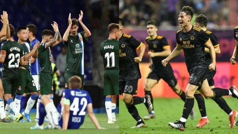 La fase previa de la Europa League, a una ronda de terminar. AFP/BeSoccer