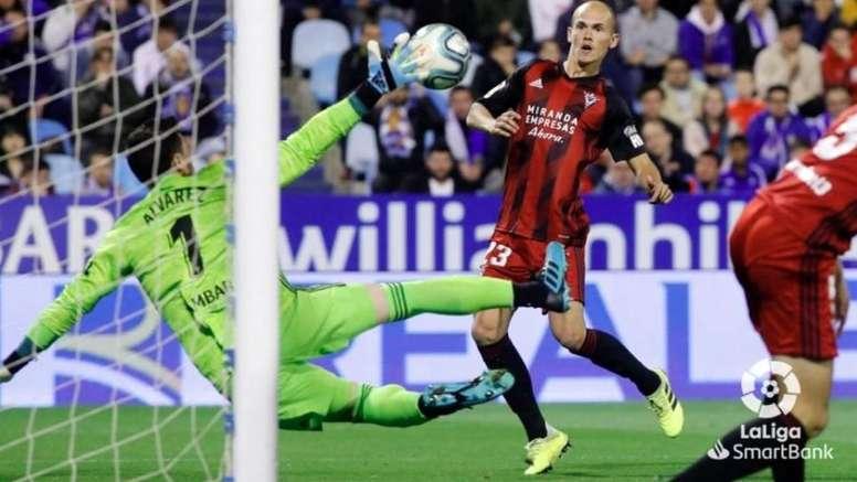 Destacó la victoria del Mirandés ante Las Palmas. LaLiga