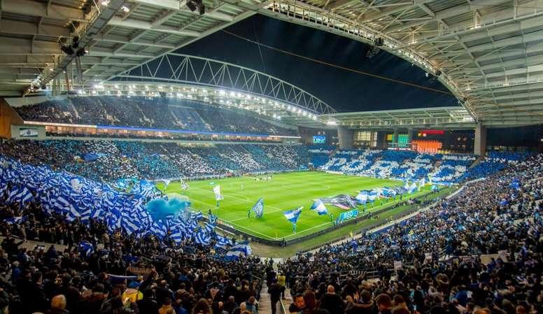 Estádio do Dragão. Twitter@FCPorto