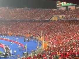 Les 'Pharaons' ont répondu présent ! Capture/SoccerLaduma