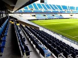 Estadio La Rosaleda de Málaga. MálagaCF