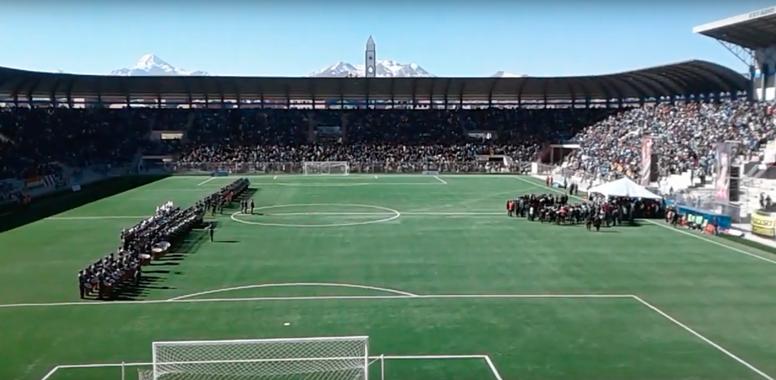 El Alto podría acoger competiciones internacionales. Captura/YouTube