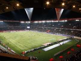 Os onzes de Brugge e PSG. PSG