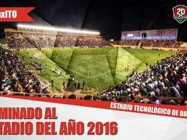 El estadio mexicano podría ser el mejor del año. FederacionMexicana