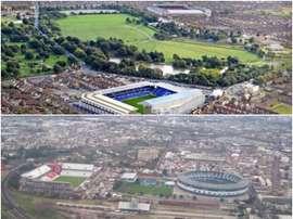 Hay estadios que conviven muy cerca. BeSoccer