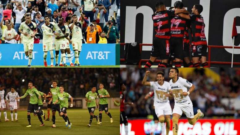 Estas son las semifinales de la Copa Mx Clausura 2019. BeSoccer