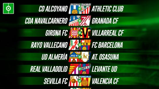 Confira os jogos da Copa del Rey 2020-21. BeSoccer