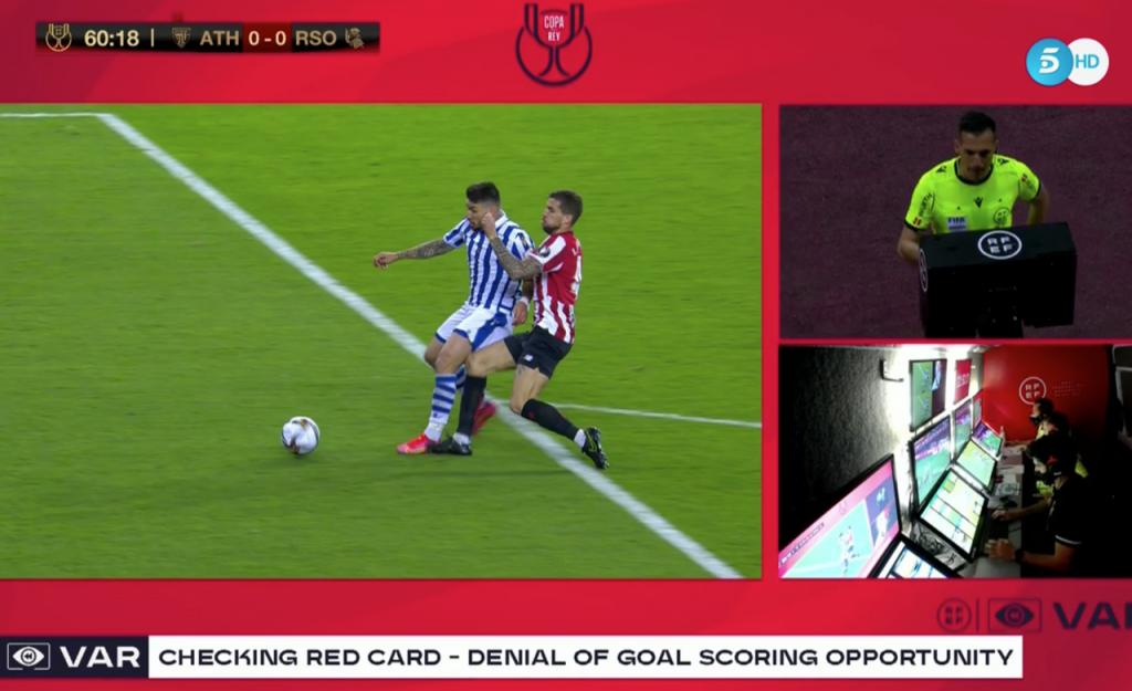 Penalti de Íñigo en la final de Copa