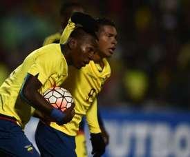 Ecuador se impuso con claridad a Colombia en el Sudamericano Sub 20. AFP
