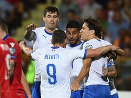 L'Italia rialza la cresta con il Gallo. Twitter/VivoAzzurro