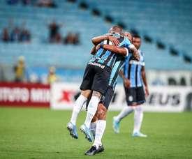 Gremio salva la cita, Vasco y Corinthians pegan un resbalón. Gremio