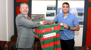 O brasileiro de 24 anos recusou outras equipas para assinar pelos madeirenses. Marítimo