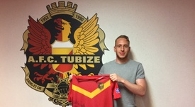 Gouw es el nuevo fichaje del equipo belga. AFCTubize