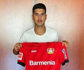 Le Bayer Leverkusen recrute la perle de River Plate Exequiel Palacios. Twitter/bayer04fussball