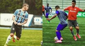 Ezequiel Esperón jugó para Gremio e Internacional en Brasil. Instagram/ezeesperon
