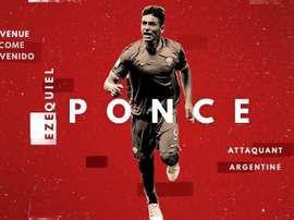 Ezequiel Ponce, nuevo jugador del Lille. LOSC