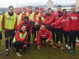 El joven atacante regresó al fútbol suizo. Chiasso