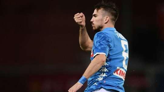 Fabian Ruiz pourrait bien rester à Naples. AFP