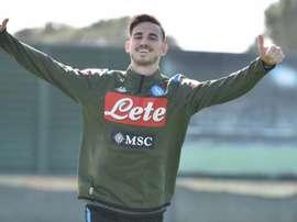 Naples ne veut plus d'un échange Fabián-Jovic.  Twitter/sscnapoli