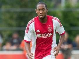 Fabian Sporkslede, en su etapa como jugador del Ajax. Voetbal