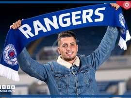 Fabio Cardoso ya es nuevo jugador del Rangers. RangersFC