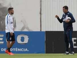 Fábio Carille, técnico do Corinthians, analisou o empate. Twitter /@Corinthians
