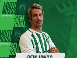 Coentrao retrouve son équipe. Twitter/RioAve_FC