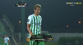 Coentrao a fait ses débuts avec le Rio Ave. Capture/SportTV