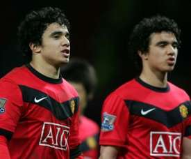 Rafael says Cristiano Ronaldo convinced him to join Manchester United. AFP