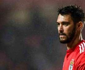 Facundo Ferreyra, do Benfica pode rumar ao Espanhol. AFP