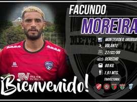 El centrocampista uruguayo se incorpora a la disciplina de los 'violetas'. MetropolitanosFC