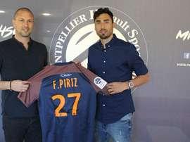 Piriz llega como cedido al conjunto francés. Montpellier