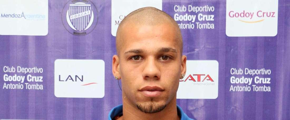 Patricio Silva se quejó de las formas que mostró el colegiado Patricio Loustau. ClubGodoyCruz