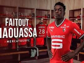 Faitout Maouassa devient le nouveau joueur de Rennes. StadeRennais