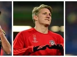 Falcao, Schweinsteiger y Van Persie son tres de los jugadores más devaluados del pasado año. BeSocce