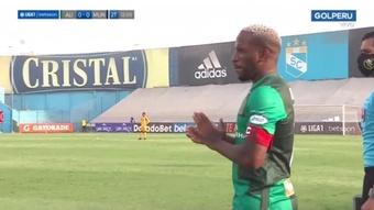 Jefferson Farfán anotó un gol en su debut con Alianza de Lima. Captura/GolPeru