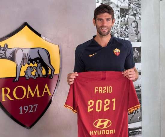 La Roma prolonge Fazio jusqu'en 2021. ASRoma