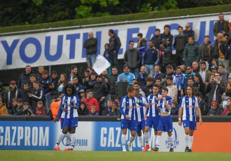 FC Porto é campeão da UEFA Youth League. Twitter @FCPorto
