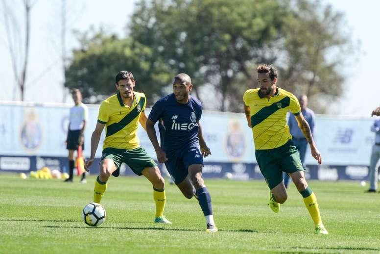 Prováveis escalações de Paços de Ferreira e Porto. Twitter/FCPorto