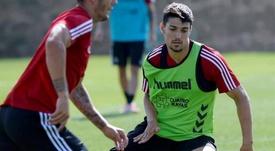 Fede Barba (d) estaría a punto de dejar el Valladolid. EFE/Archivo
